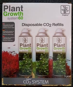 CO2 NanoSet, 3 Nachfüllflaschen